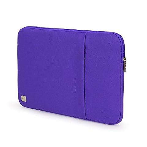 CAISON Tragbar Violett 10 Zoll Tablette Laptop Sleeve Case Schutzhülle Tasche für Apple 9.7