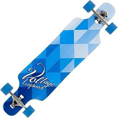 Voltage Blue Drop Through Longboard - 39 inch