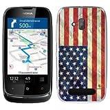Buzzebizz Coque pour Nokia Lumia 610 Motif Drapeau Etats-Unis