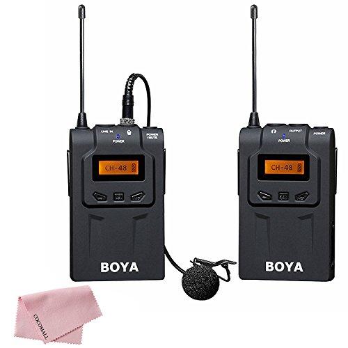 boya-by-wm6-uhf-lavalier-microfono-inalambrico-de-solapa-omni-direccional-para-eng-efp-dv-canon-650d