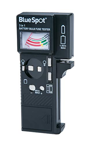 Blue Spot 31114 Testeur pour fusibles et batterie