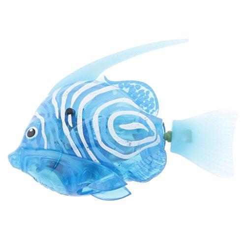Generic Robo Fisch Elektrische Schwimmen Anemonenfisch Roboter-Haustier 8,0 x 2,0 x 5,5 cm - Grau -