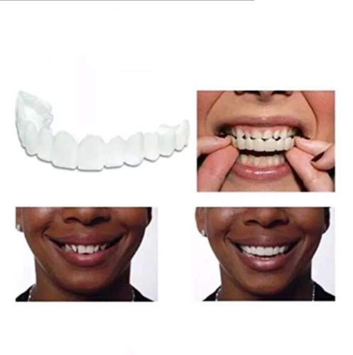 Maple Leaf Smile Whitening Zähne Komfortabel Weich Perfektes Furnier Weiß Simulierte Zahnspangen Obere Zahnspangen Untere Zahnspangen Bedecken Die Zähne Kosmetische Zähne,Upperteeth