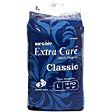 "Extra Care Classic Adult Diapers Large Size 10 Pcs 40"" - 50"" Hip Size 960x790 Mm Slim & Comfort (Large)"