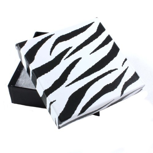 zebra-100-x-card-armreif-armband-geschenkboxen-mit-baumwolle-feuerfest-und-deckel-90-x-90-x-24-mm