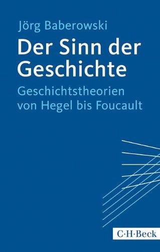Der Sinn der Geschichte: Geschichtstheorien von Hegel bis Foucault