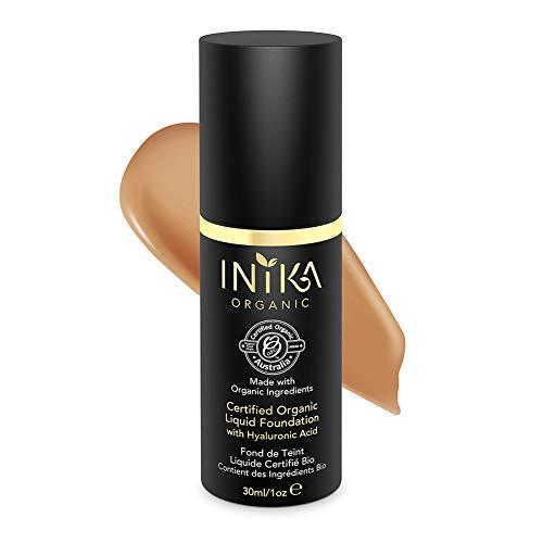 INIKA Certified Organic Liquid Mineral Foundation Honey -