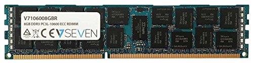 V7 V7106008GBR - Server DDR3 DIMM Módulo de Memoria 8GB (1333MHZ, CL9,...