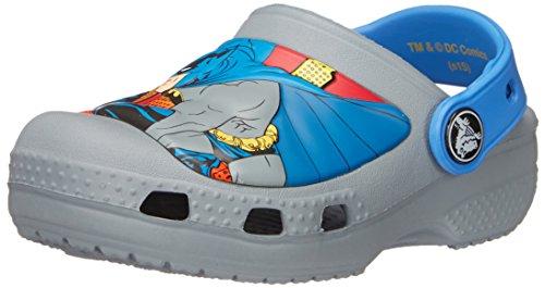 crocs CC Batman Clog, Jungen Clogs, Grau (Concrete 0Z3), 29-31 EU (C12-13 Jungen UK)