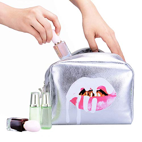 1 UNID Bolsa maquillaje prueba agua organizador cremallera