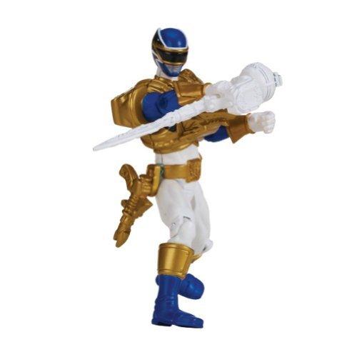 Power Rangers Megaforce 10cm Ranger blau Ultra mit der Karte Aktionsprogramm (Megaforce Ranger Blau Power)