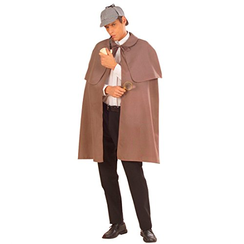 NET TOYS Detektiv Umhang Agenten Mantel Sherlock Holmes -