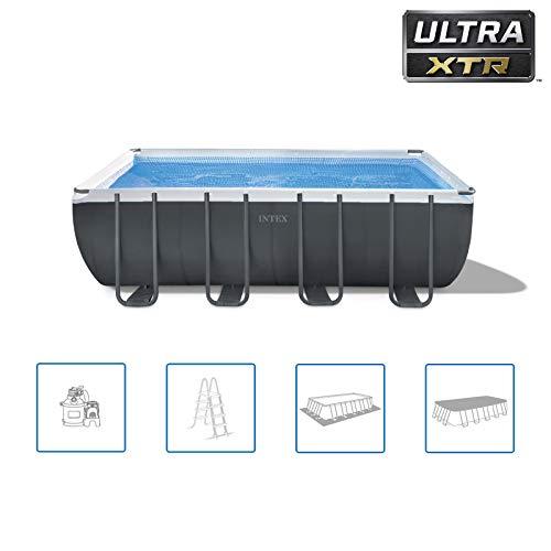 INTEX Kit piscine Ultra XTR rectangulaire 5.49 x 2.74 x 1.32 m