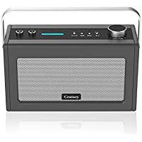 Century Internet Radio- Smart Wi-Fi Speaker with Alexa Voice Control, Bluetooth, Internet Radio,Smart Home Control, Multi-Room, News and Sport updates (Charcoal)