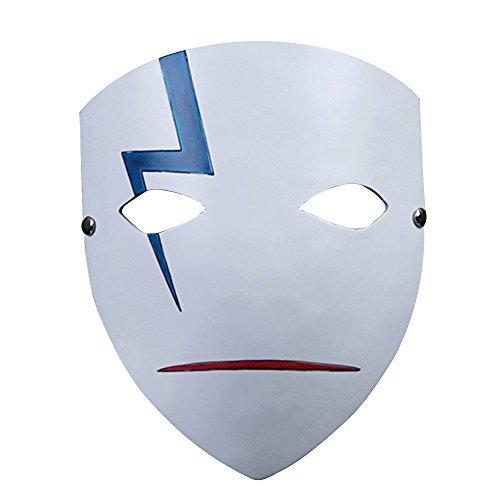 Alxcio Halloween Maske Sammleredition Film Theme Harz Maske für Maskerade Kostüm Partei Cosplay Geschenk ( Darker Than Black )