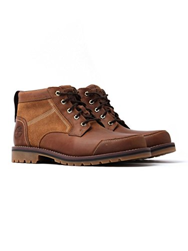 Mens Timberland Larchmont Chukka Suede Leather Hiking Casual Ankle Boots - Brown...