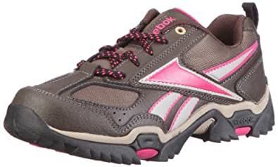 Reebok Run the Mud 180149, Unisex - Kinder Sportschuhe, Braun (earth/charcoal brn/khaki/o.pink/blk 2), EU 30