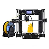 ALUNAR 3D Desktop Drucker Self Assembly Reprap Prusa I3 Kit mit Filament (M506)