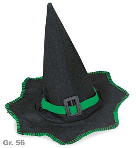 Magier Kostüm Feuer (Hexenhut Filz)