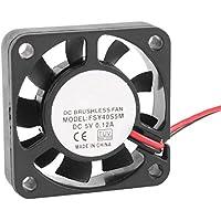 REFURBISHHOUSE 40mm x 10mm 0.12A 2Pin 5V DC Sin Escobillas Manga Rodamiento Ventilador de Refrigeracion