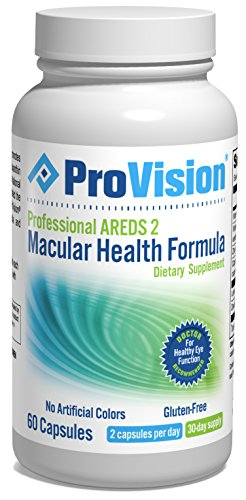ProVision Professional AREDS 2 Macular Health Formula - 60 Capsules - 1 Month Supply