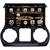 CARVISION car stereo for JEEP WRANGLER 2011-2014 Auto Radius GPS Navigation Android Multimedia Full Touch Screen Head Unit 10