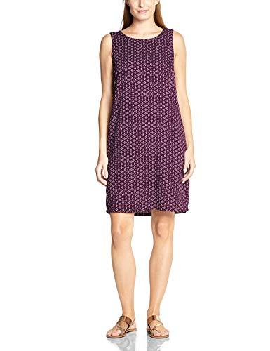 Cecil Damen 142462 Kleid, deep Berry, Small (Herstellergröße:S) Kleid Sneaker