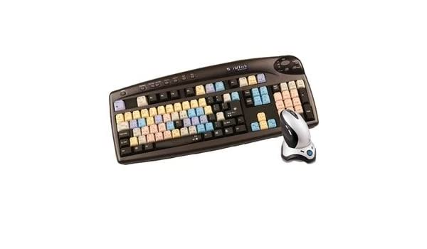 Ulead Media Studio Pro Worldtech 103-201-B Keyboard