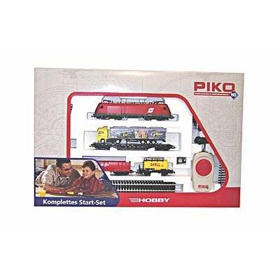 Piko 57170 - H0 Start-Set BR 182 Güterzug