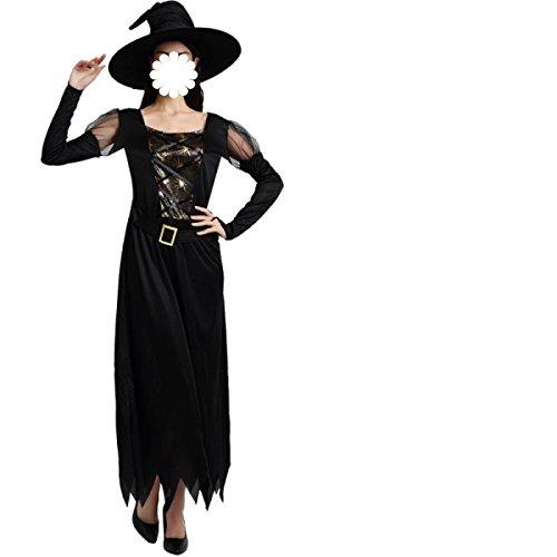 tüme Cos Maskerade Erwachsene Kleidung Sexy Weibliche Hexen Teufel Angel Der Vampir Kleid,B-160-175cm (Gemütliche Teufel Kostüme)