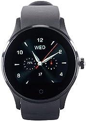 simvalley MOBILE Smart Uhr: Handy-Uhr & Smartwatch für iOS & Android, mit Bluetooth & Herzfrequenz (Smartwatch Herren)