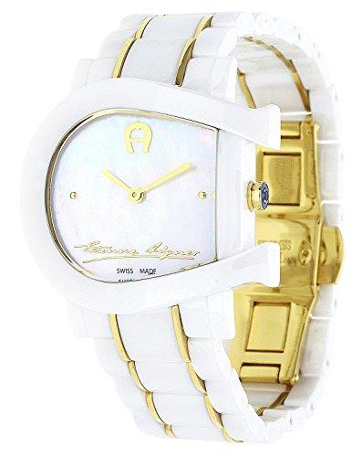 Aigner orologio Genova due bianco a 31642