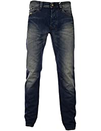 Diesel larkee-t 0815T regular slim-tapered men's jean usé taille moyenne
