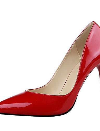 WSS 2016 Chaussures Femme-Extérieure / Bureau & Travail / Soirée & Evénement-Noir / Rose / Rouge / Argent / Or / Bordeaux-Talon Aiguille-Talons / burgundy-us5.5 / eu36 / uk3.5 / cn35