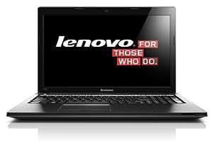 Lenovo G505 39,6 cm (15,6 Zoll HD LED) Notebook (AMD E1-2100, 1.0 GHz, 4GB RAM, 320GB HDD, Win 8) schwarz