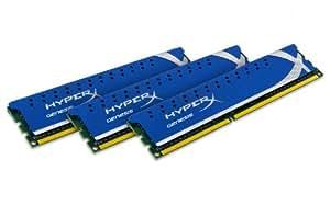 Kingston KHX1600C9D3K3/6GX Mémoire RAM DDR3 1600 6 Go KVR CL9 HyperX XMP K3