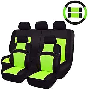 Car Pass Auto Schonbezug 12 Teillige Sitzbezüge Mit Lenkradbezug Und Gurtpolster Für Auto Universal Autositzüberzug Auto
