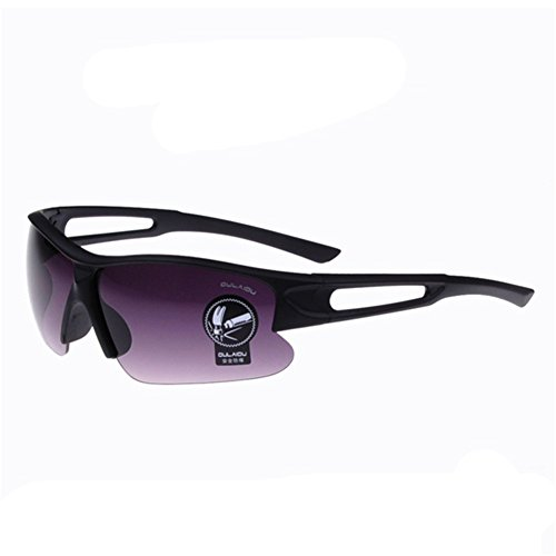 Z-P Unisex Outdoor Sports Style Driving Bicycle Windproof Night Vision Sunglasses 65MM