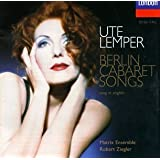 Berlin Cabaret Songs (in English)
