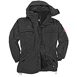 Marc&Mark Schwarze 3in1 Jacke I Winterjacke Herren I Kleidung Herren I Herrenjacke I Übergangsjacke I Outdoorjacke I Regenjacke in Übergröße bis 10 XL, Größe:8XL