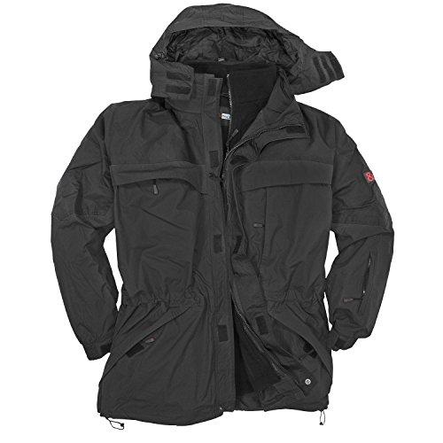 Schwarze 3in1 Jacke von Abraxas in bergre bis 10 XL, Gre:7XL Schwarz