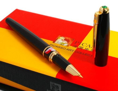 picasso-show-off-art-pure-black-fountain-pen-hot
