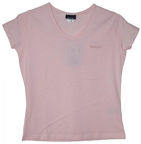 Reebok V Neck Damen T-Shirt rosa, Größe:L/40 (Reebok Rosa T-shirt)