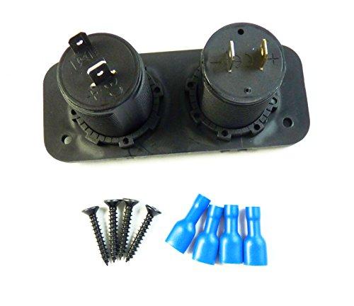 NEW-105-x-45-x-55-cm-Auto-presa-accendisigari-splitter-adattatore-di-alimentazione-12-V-2-porte-USB-Charger