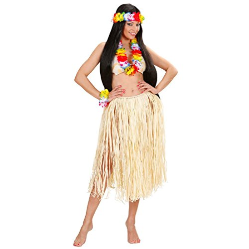 Hawaiianer Kostüm - NET TOYS Hawaiikette Hawaii Hula Blumenkette Blumenschmuck Leis Hawaiianer Set Hawaiianische Blütenkette Lei Sommerparty Kostüm Schmuck
