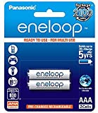 Panasonic eneloop 2×AAA 800mAh Ready...