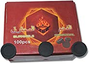 Incense Charcoal Tablets By SAM - 100PCS/Pack