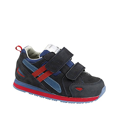 Piedro  Piedro Children's AFO Sports Style Shoes 3803, Sandales Compensées mixte enfant bleu/rouge