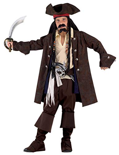 Garcon D'halloween Kostüm - clown republic- 90212/12, Piraten-Kostüm, Mädchen, Motiv 7 Meer, mehrfarbig