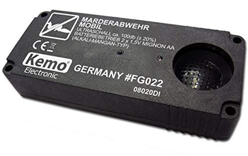 Kemo Marderabwehr mobilFG022 Batteriebetrieben